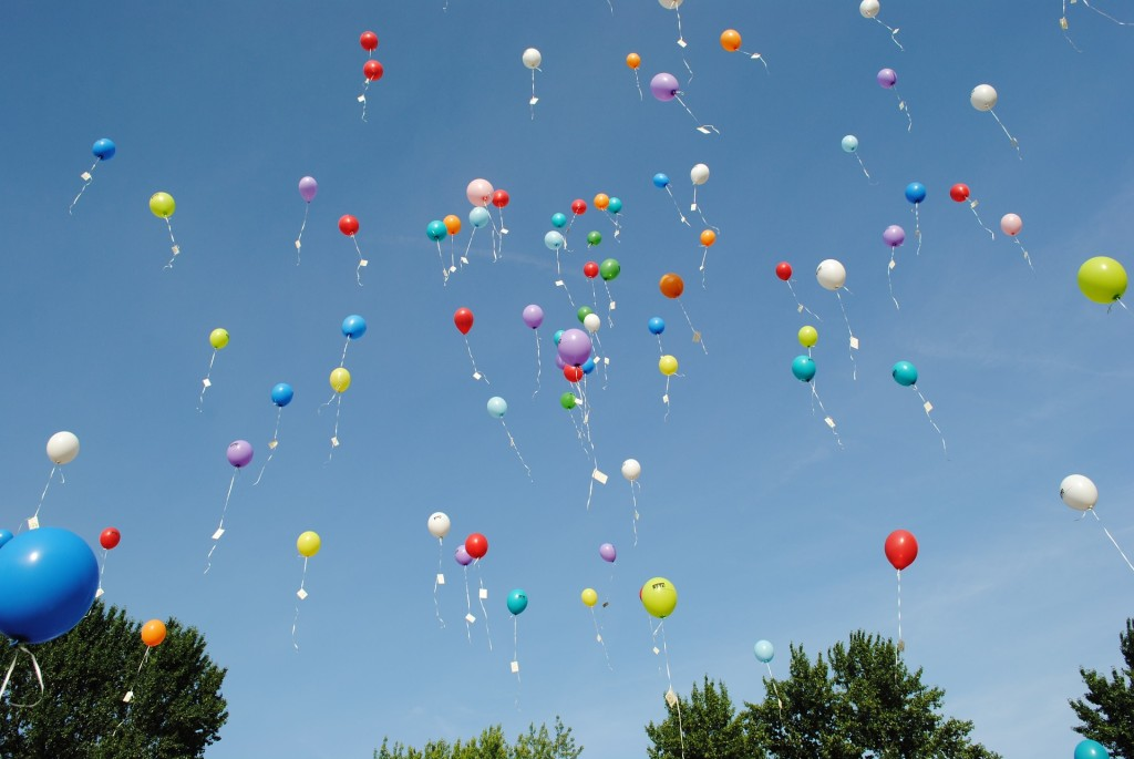 Release the balloons!