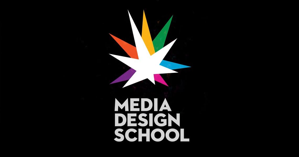Media Design School Logo