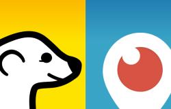 Meerkat & Periscope logos